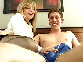 Nina Hartley Luvs Cousin's Big Dick