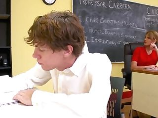 Mercedes Carrera Is Getting Fucked In The Classroom, While No One Else Is There To See Her