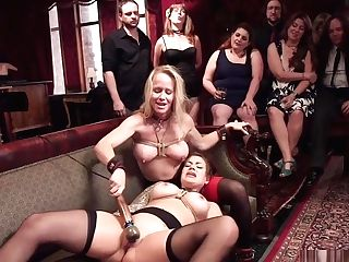 Victims Are Ball-gagged And Fucked In Soiree