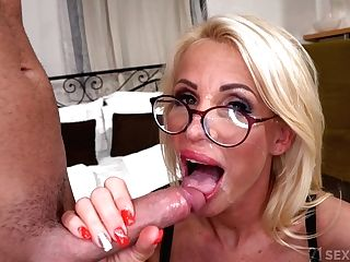 Lusty Gilf Grand-ma Tiffany Rousso - When Step-matures Is Lonely - Xxx With Jizz Shot
