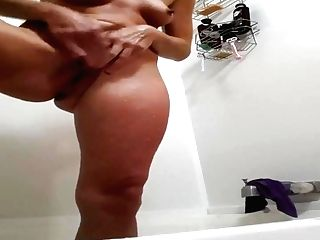 Horny Wifey Alone At Home