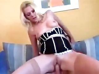 Blonde Euro Mummy
