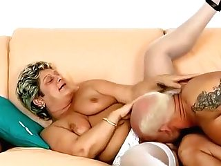Granny Loves To Have Youthfull Chisel In Her Mouth