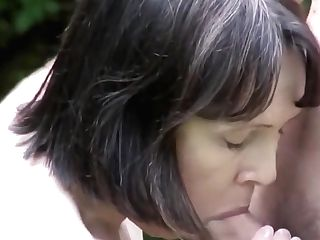 Matures Mummy Fucks Her Son-in-law In The Yard
