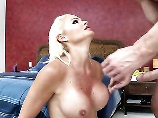 Johnny Sins Shoves His Love Stick In Irresistibly Hot Rhylee Richardss Fuck Crevasse