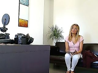 Kassandra Comes Thru To See What She Can Do For A Spot In The Pornography Biz. Well, We All Know What Needs To Be Done If You Want To Work In Pornogra