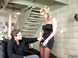 Phoenix Marie In Slinky German Housewife In Stockings Gonzo Porno Vid