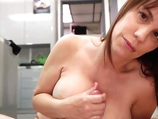 Hating Teenager Treated With Some Good Tugjob