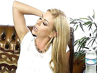 Two Magnificent Blonde Beauties From Porno Industry At The Interview