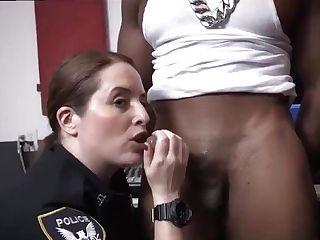 German Blonde Mummy Masturbates Raw Flick Captures Cop Fuckin' A Deadbeat