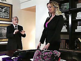 Desirable Mummy Stormy Daniels Railing Big Dick Upskirt