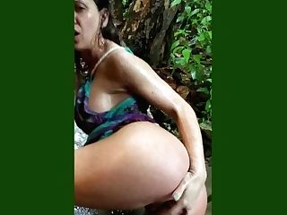 Cherie Deville Naked In The Rain In Jamaica