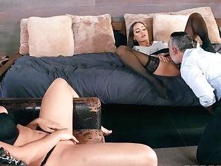 Desiree Dulce & Rachel Starr Love Xxx Threesome Fuckfest
