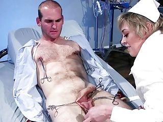 Giant Juggs Mom Nurse Butt-pounding Fucks Man