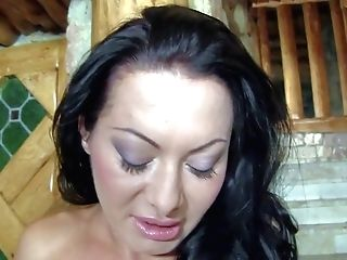 Sandra Romain Is A Raven Haired Mouth-watering Mummy With Amazing
