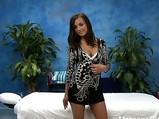 Riley Flashes Her Lovely Breasts Before She Liquidates Her Sundress