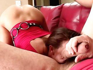 Having His Assistant Sucking Him Under Desk