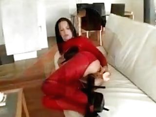 Dirty Brown-haired Fuckslut Goes Crazy Faux-cock