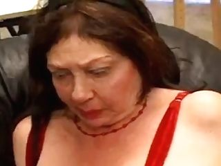 An Old Granny Fucked By A Youthfull All Girl